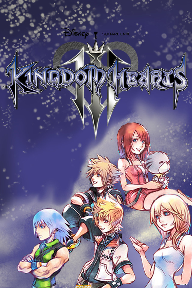 Kingdom Hearts 3 Wallpaper Iphone By Davidsobo