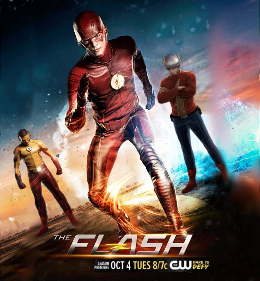 The Flash - Season 3 Poster by davidsobo on DeviantArt