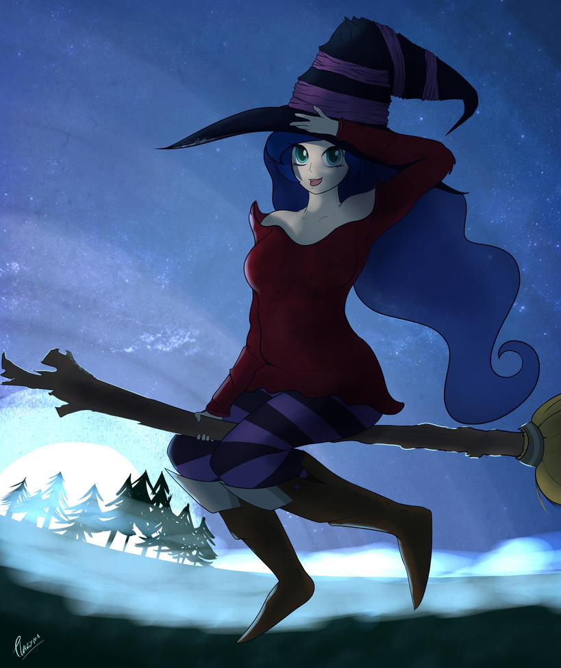 Bewitching Luna by Plazyma
