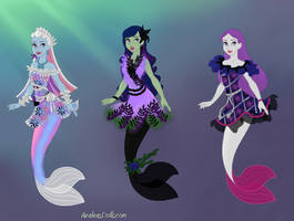 Monster High Mer-Ghouls part 1