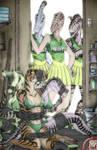 Predaguy's 'Uniform Thieves' Colorized