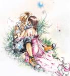 tidus and yuna kiss