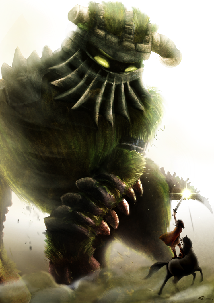 Shadow of the colossus by Zita52 on DeviantArt