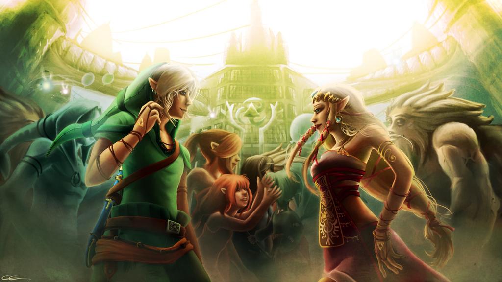 The Legend Of Zelda by Zita52
