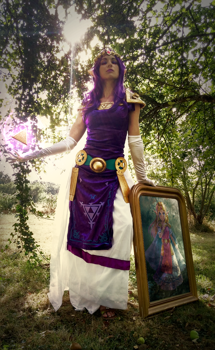 Princess Hilda triforce by Zita52