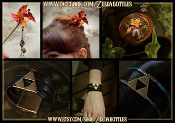 Zelda new creations! by Zita52