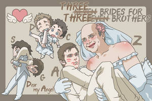 Three brides for three brothers by kim777777