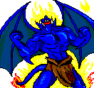 Blue Gargoyle Avatar by Sabretooth