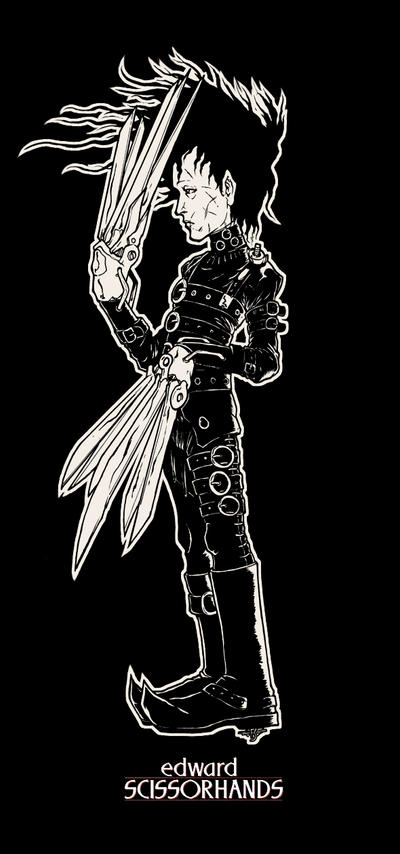 edward scissorhands by pumpkinbear
