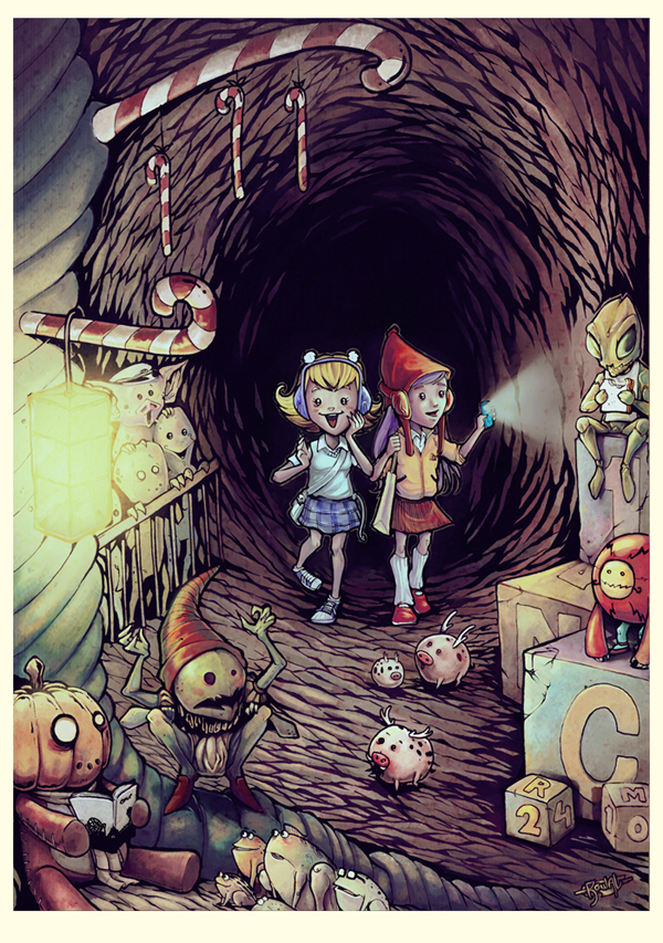 Cave of the Misfit Toys by pumpkinbear