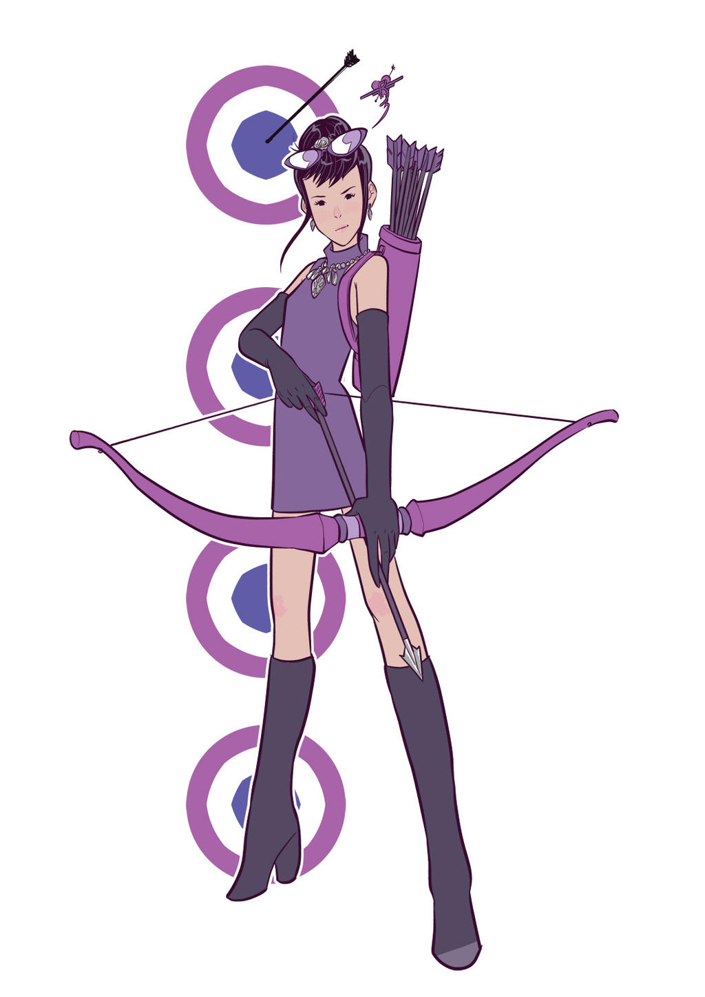 Kate Bishop by pumpkinbear