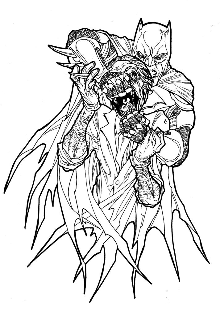 Batman vs Joker by Paterdixit on DeviantArt