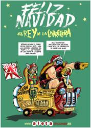 El Rey de la Carretera Feliz Navidad by Paterdixit