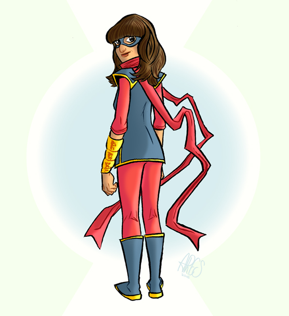 Ms Marvel by Paterdixit
