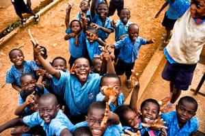 School Children by PatrickMonnier