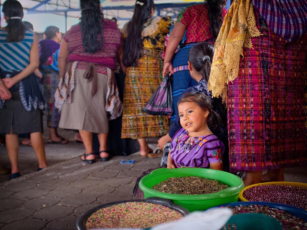 Market girl by PatrickMonnier