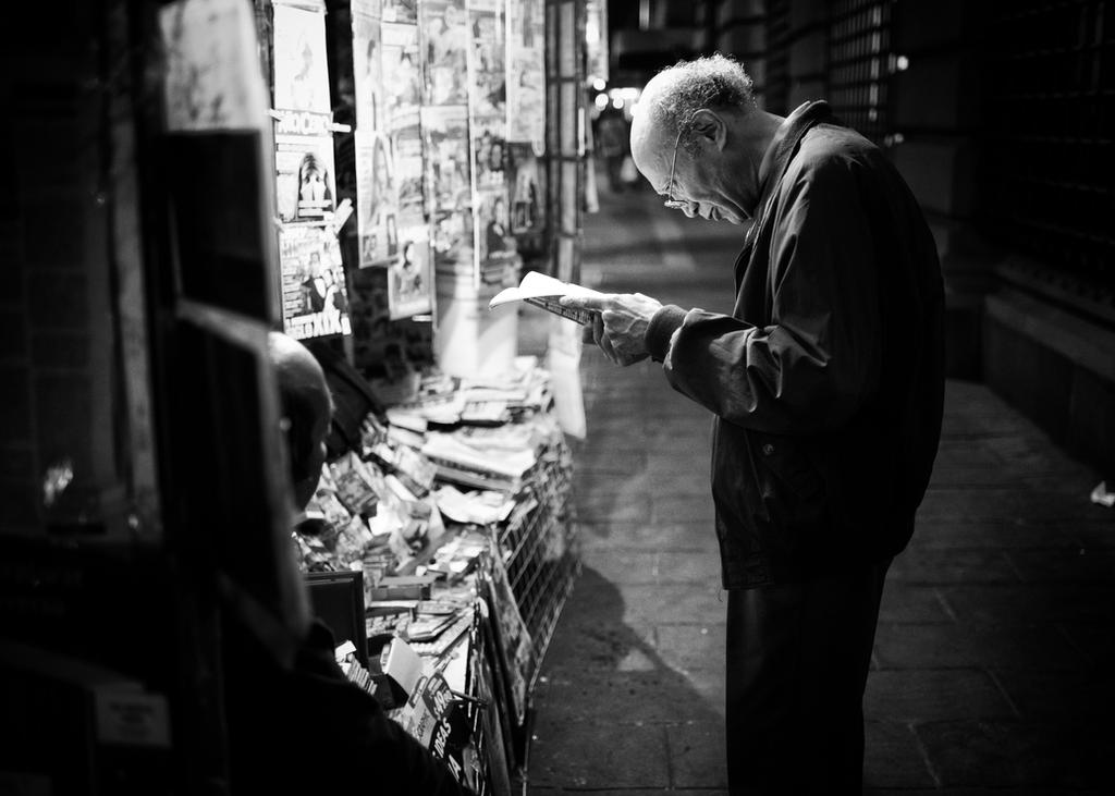 Attentive Reader by PatrickMonnier