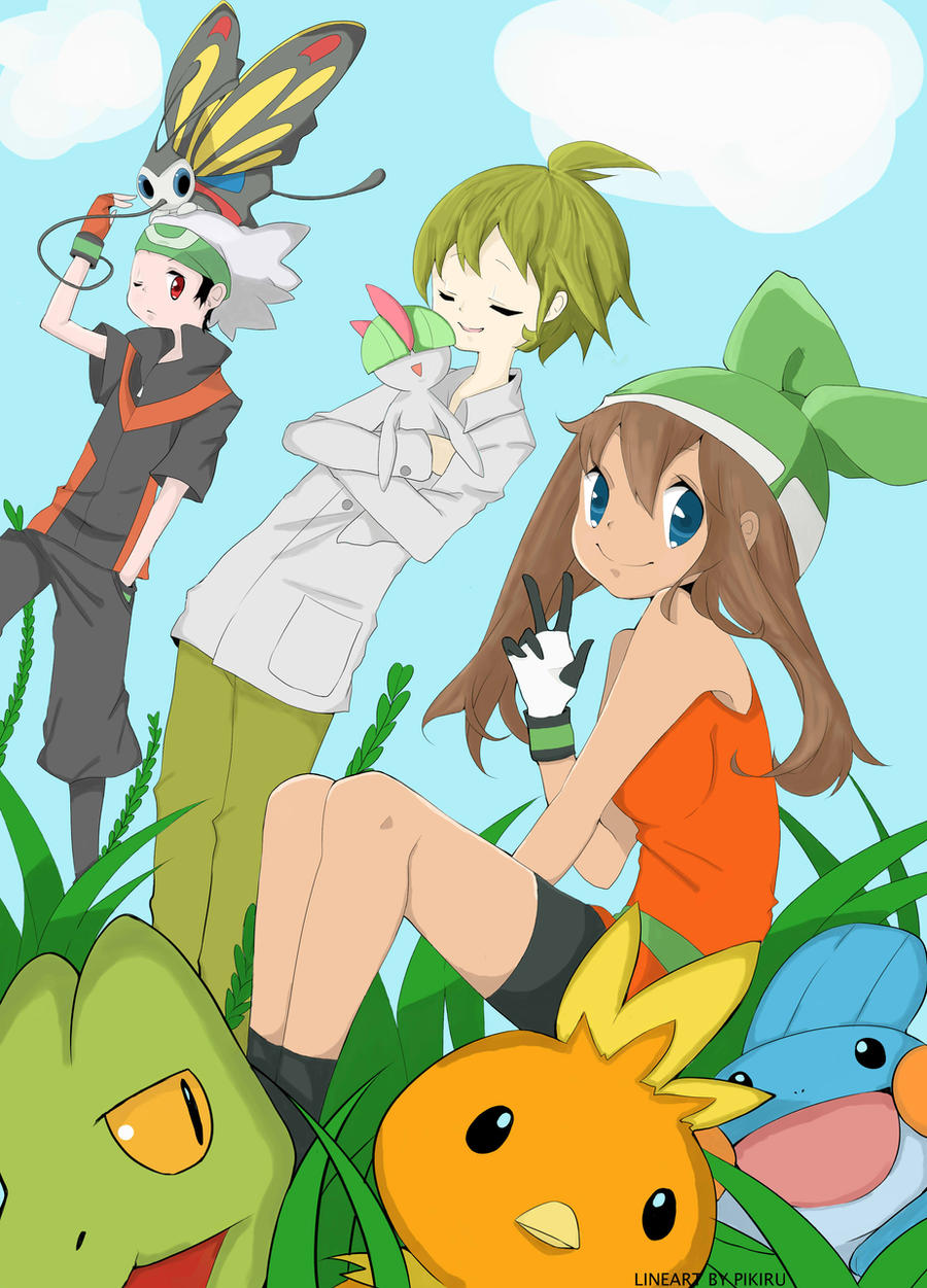 Pokemon Brendan Wally May By Sakura Hanamoto On Deviantart