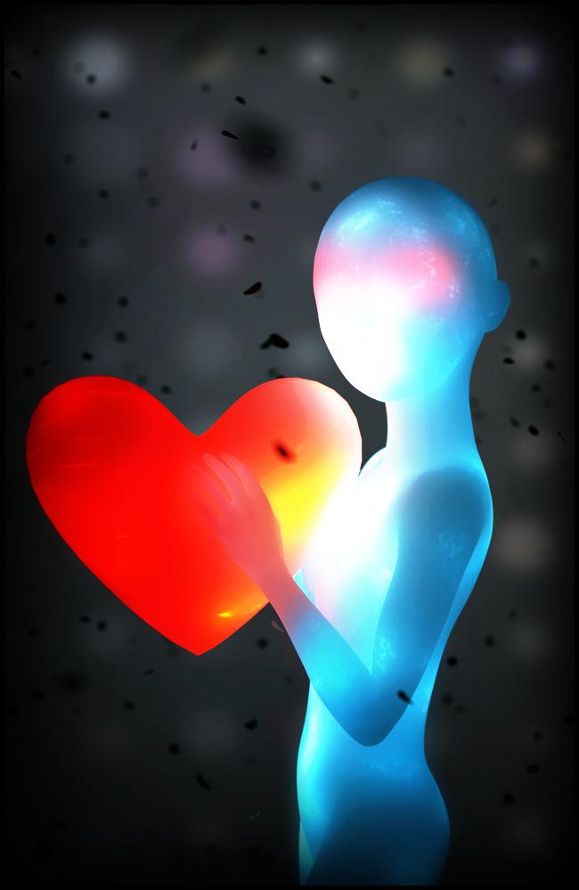 A new heart by Ippotamus