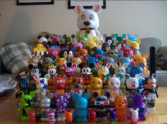 Vinylmation Collection Grown by OffThePage13