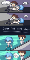 Rei Ayanami is weird by Shivery-Ao