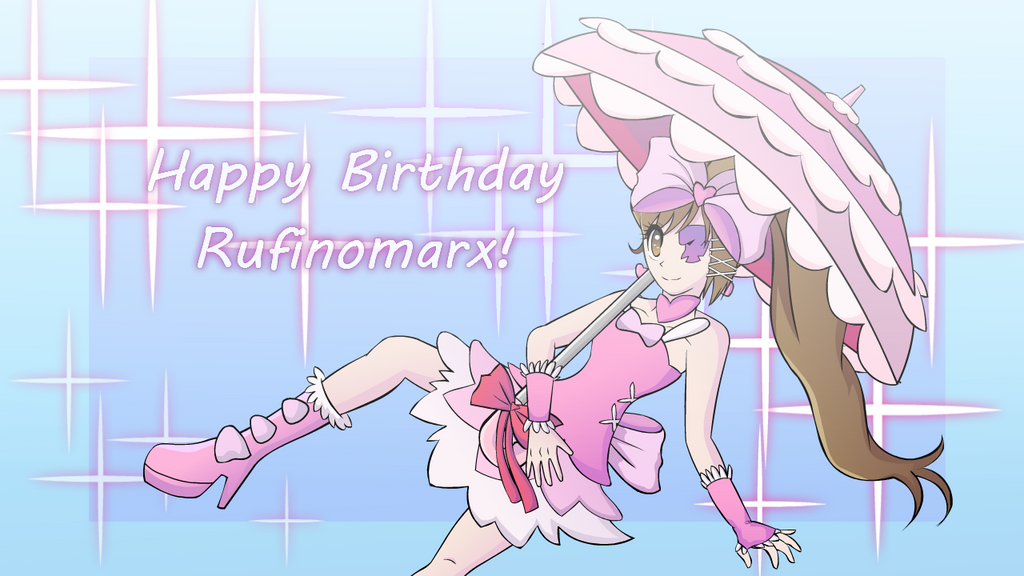 Happy Late Birthday Rufinomarx! by Shivery-Ao