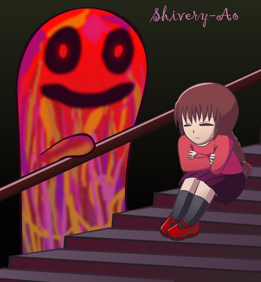 Kyukyu-Kun and Madotsuki by Shivery-Ao