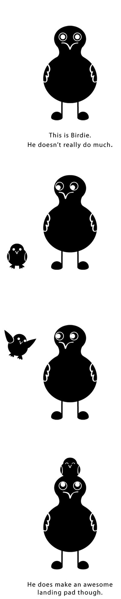 About Birdie by edynae
