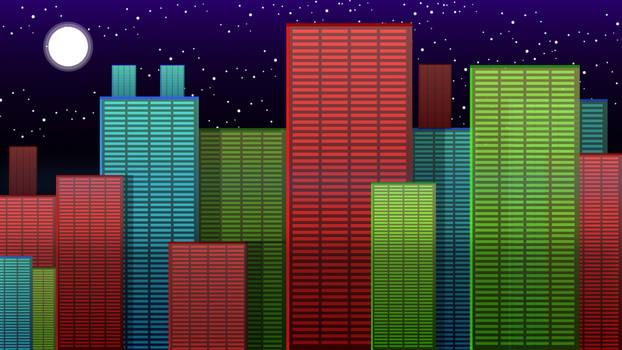 RGB Cityscape