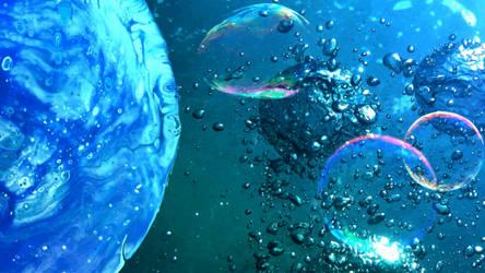 Bubblescape by Fiulo