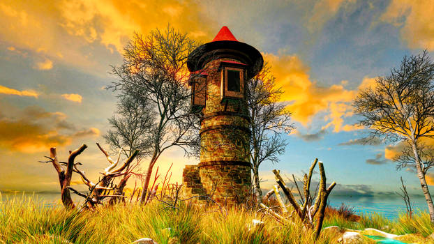 Tower in The Wetlands
