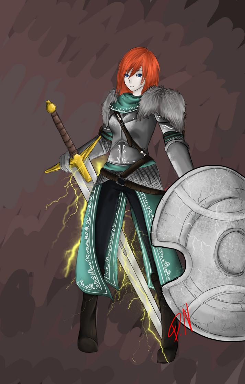 my Dark Souls 2 character by DemonNagareboshi