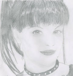 Abby from NCIS by MayContainBirdseed