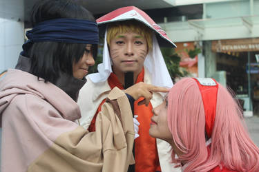 Naruto and saskuke and sakura by ducmu