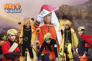 Naruto all Form (cos by Duc MU)