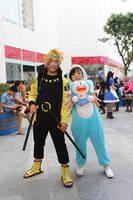 Naruto and Doreamon by ducmu