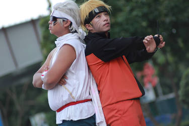 naruto and killer bee