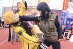 naruto and hinata fighting