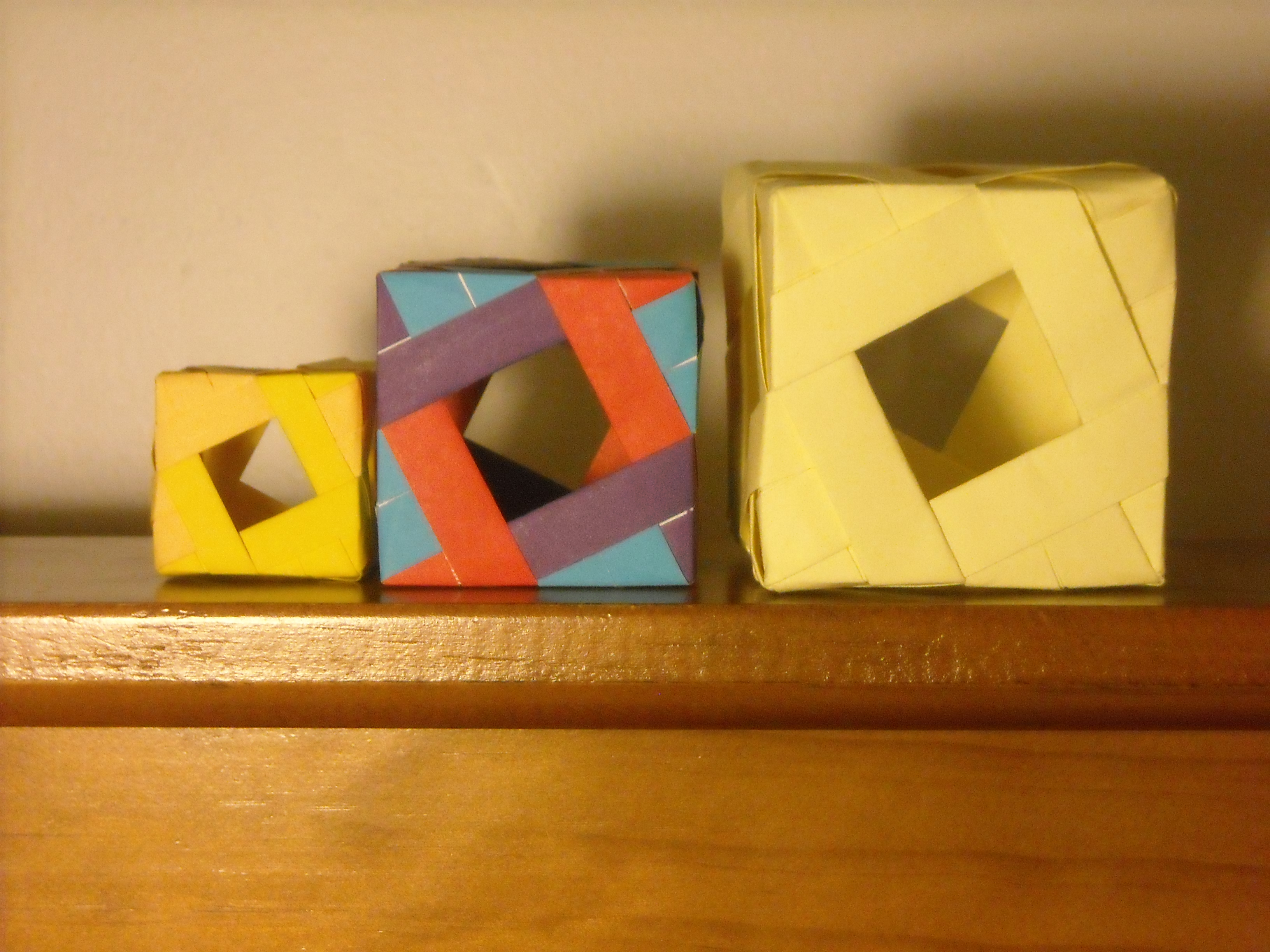 Origami Modular Cubes by AvatarIcarus on DeviantArt - photo#37