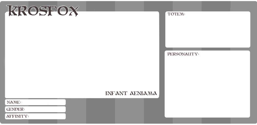 KrosFox: Infant Form by Torafox