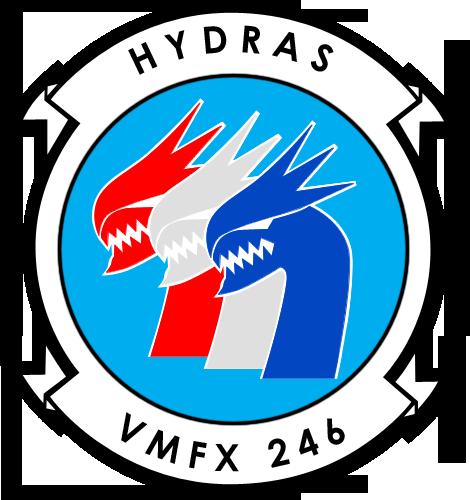 VMFX-246 Hydras Logo by BoggeyDan