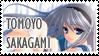 Tomoyo Sakagami Stamp