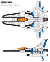 Vic Viper T-301B by BoggeyDan