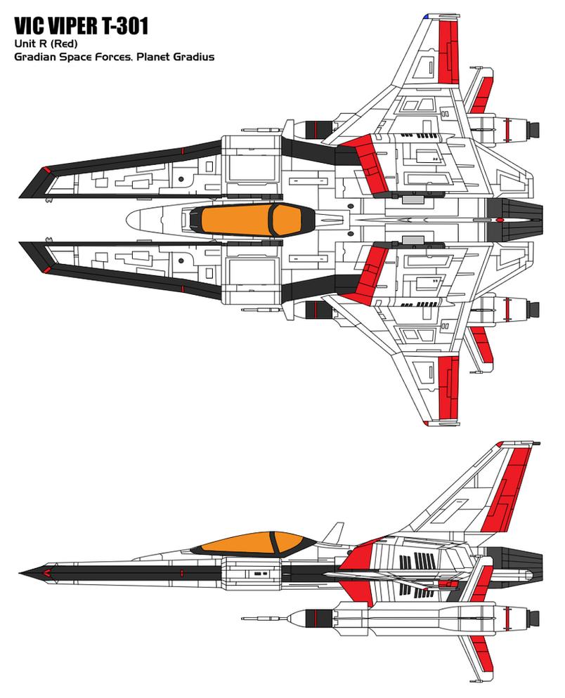 Vic Viper T-301R by BoggeyDan
