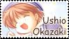 Ushio Okazaki Stamp by BoggeyDan