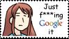 Google it Stamp: Mikuru by BoggeyDan