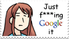 Google it Stamp: Mikuru by BoggeyDan