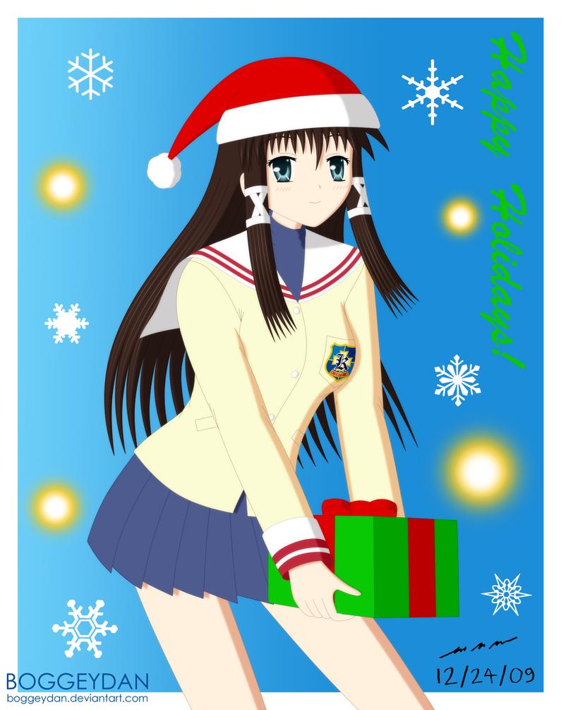 Clannad Michiko - X-mas '09 by BoggeyDan