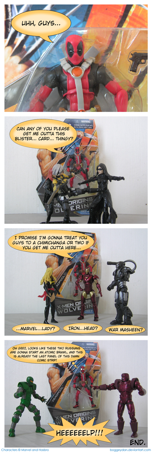 Freeing Deadpool by BoggeyDan