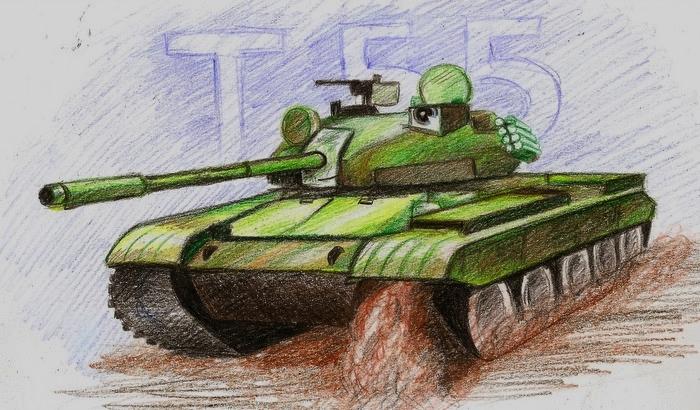 T 55 by Ikarus-001